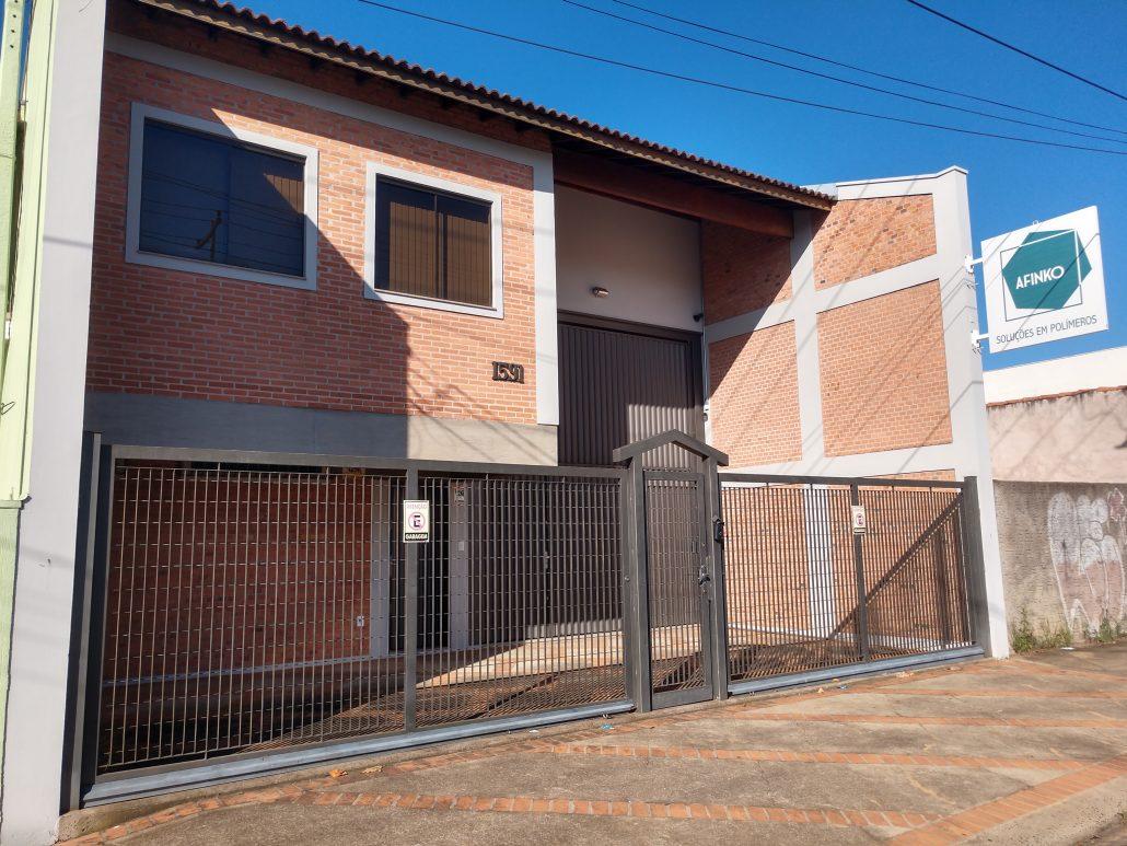 Foto: Prédio da Afinko em São Carlos - SP.