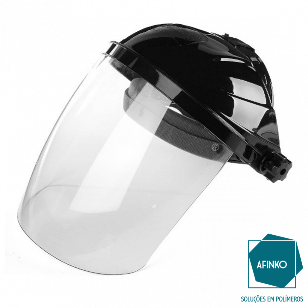 máscara face shield