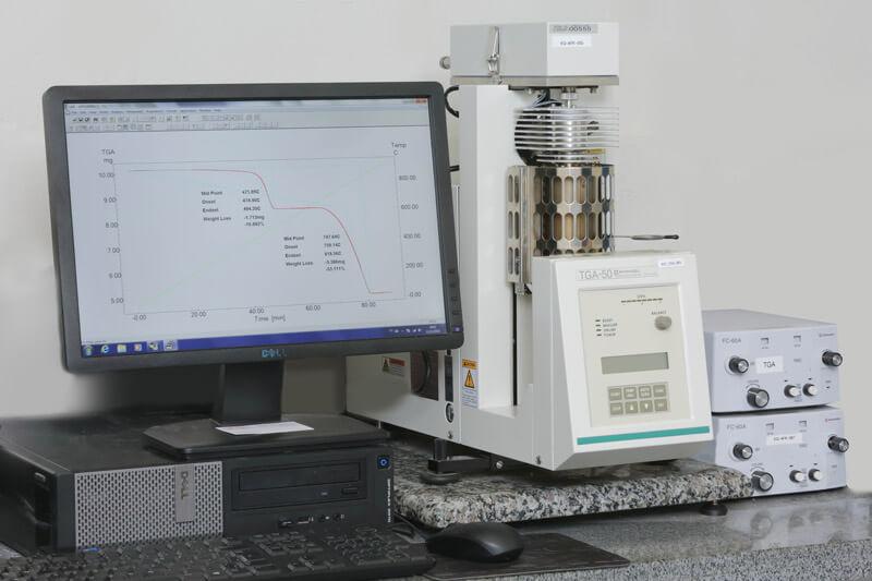 Ensaios Térmicos ensaio de termogravimetria tga