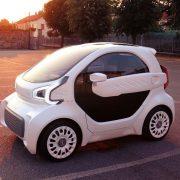 LSEV - o carro impresso em 3D. Fonte: Polymaker.