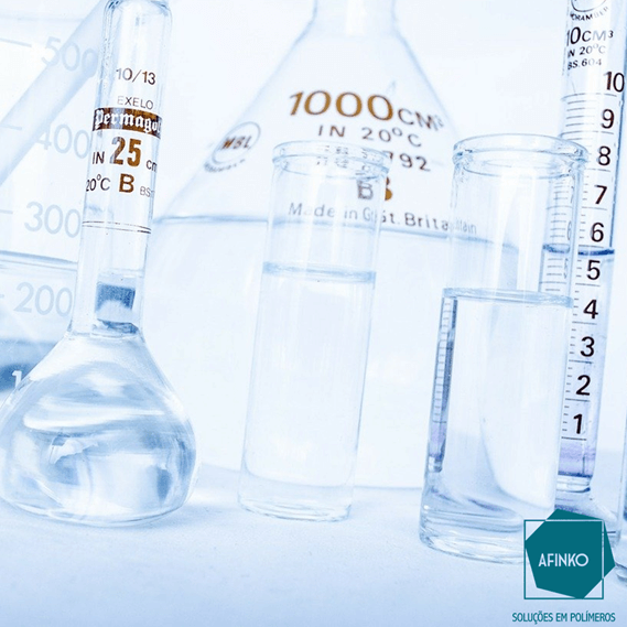 Figura - Imagem ilustrativa de procedimento para identificação de monômeros residuais